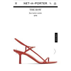 THE ROW - Bare Leather Sandals